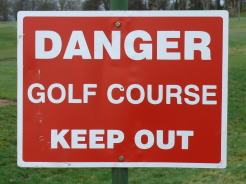 golf keep out